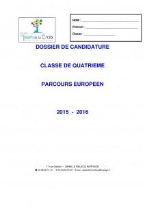 Dossier parcours europeen2015